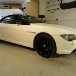 BMW 645 convertible – customizing