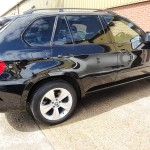 BMW X5 colour coding, wheels refurb & window tinting