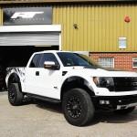 Ford F150 Raptor Body Work Correction