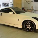 Pearl carbon Nissan 350z