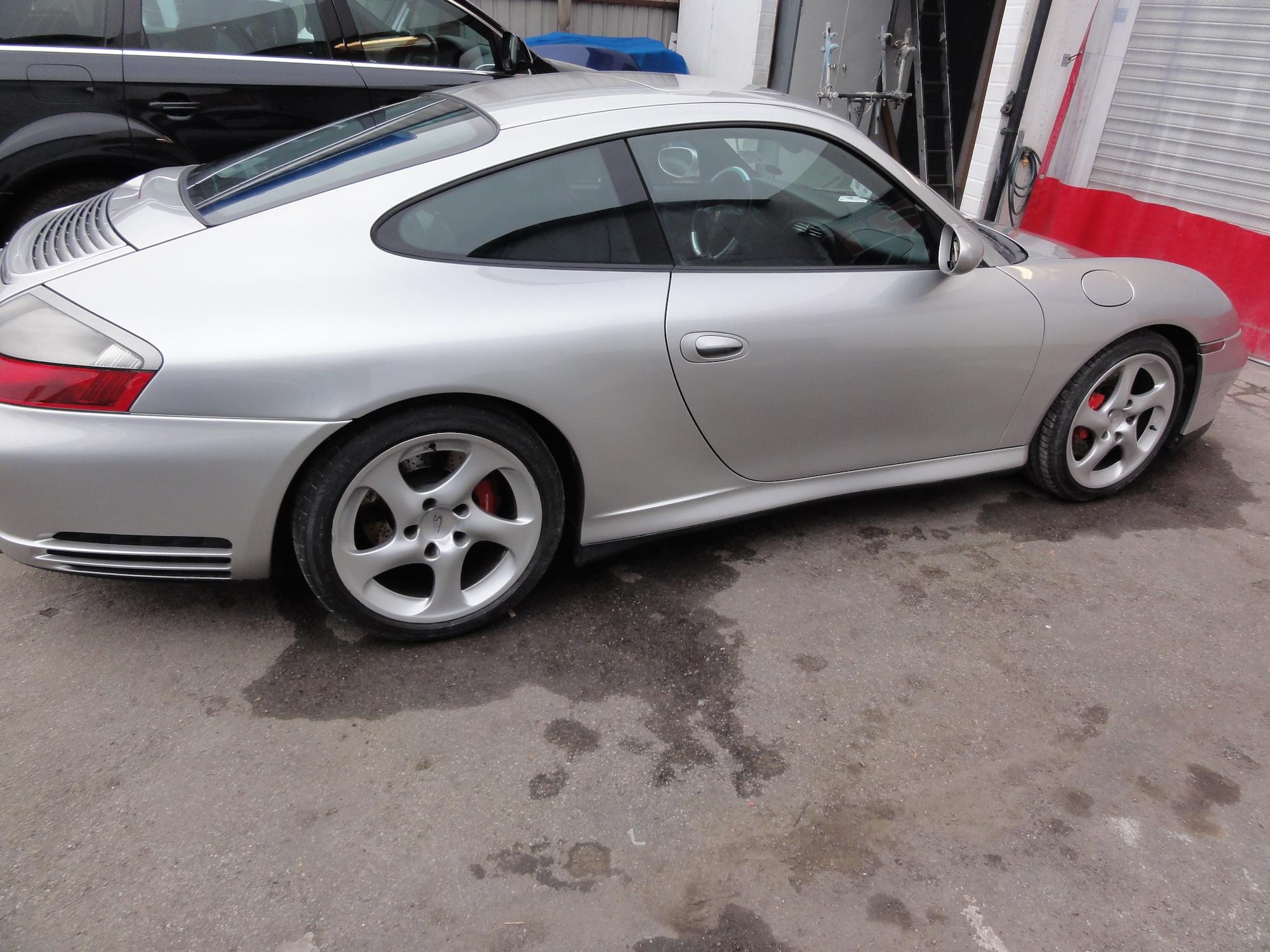 RT-Performance Porsche side repair Job terminated