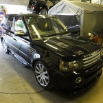 Range Rover Sport body work revitalisation