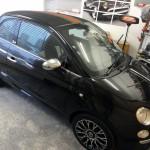 Fiat 500 Gucci key scratch repair