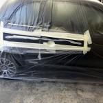 Fiat 500 Gucci body repair