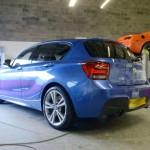 BMW 1M body repairs