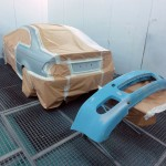 BMW E46 full respray