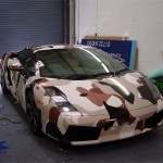 Full Lamborghini gallardo wrap