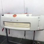Nissan 350z orange accident repair at rt performance