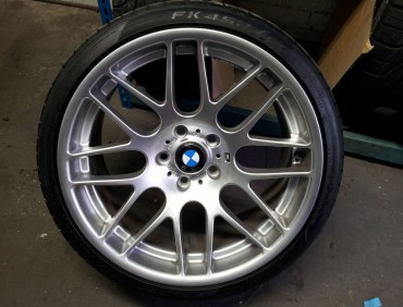 Alloy repair for BMW in London