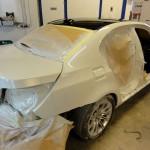 bmw seria 5 e60 m5 accident repair at rt performance
