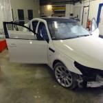 bmw e60 m5 accident repair