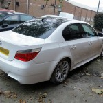 bmw e60 accident repair at rt performance in london
