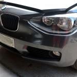 bmw f20 front bumper repair