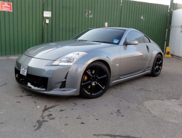 Body kit Nissan 350z installation in London