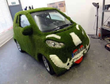 business vehicle advertising custom