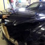 mercedes cls aluminium repair