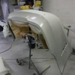 mercedes cls bumper repair