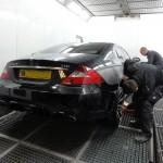 mercedes cls car body repairs
