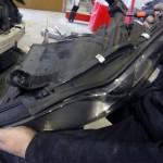 mercedes cls headlight repair
