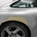 porsche 996 accident repair at rt performance in london