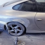porsche 996 accident repair at rt performance